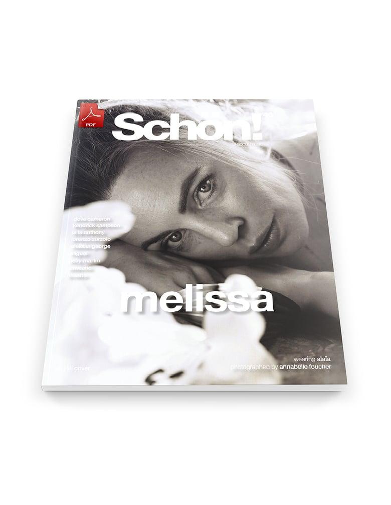 Image of Schön! 40 | Melissa George by Annabelle Foucher  | eBook download