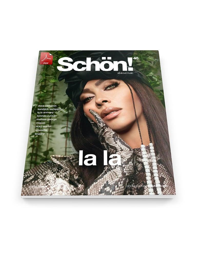 Image of Schön! 40 | La La Anthony by Luke Dickey | eBook download