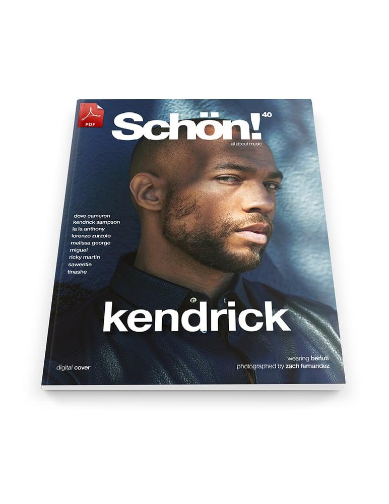 Image of Schön! 40 | Kendrick Sampson by Zach Fernandez | eBook download