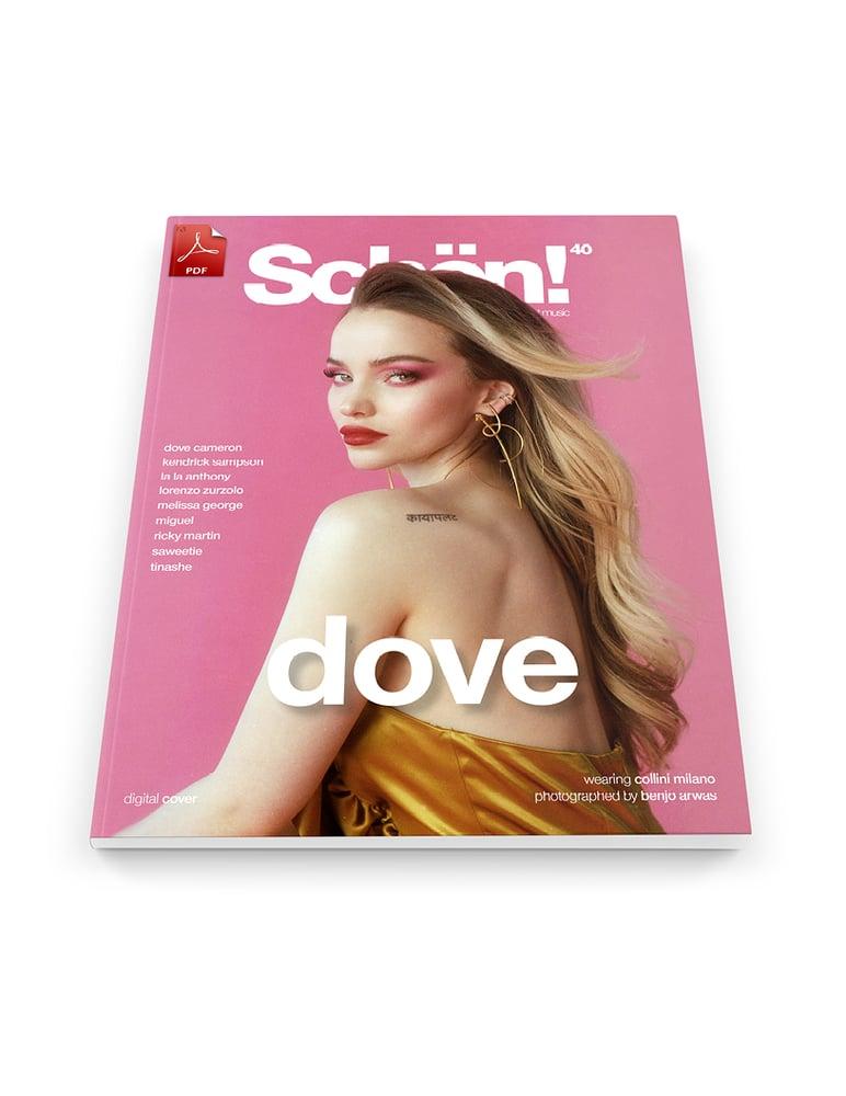Image of Schön! 40 | Dove Cameron by Benjo Arwas | eBook 2 download