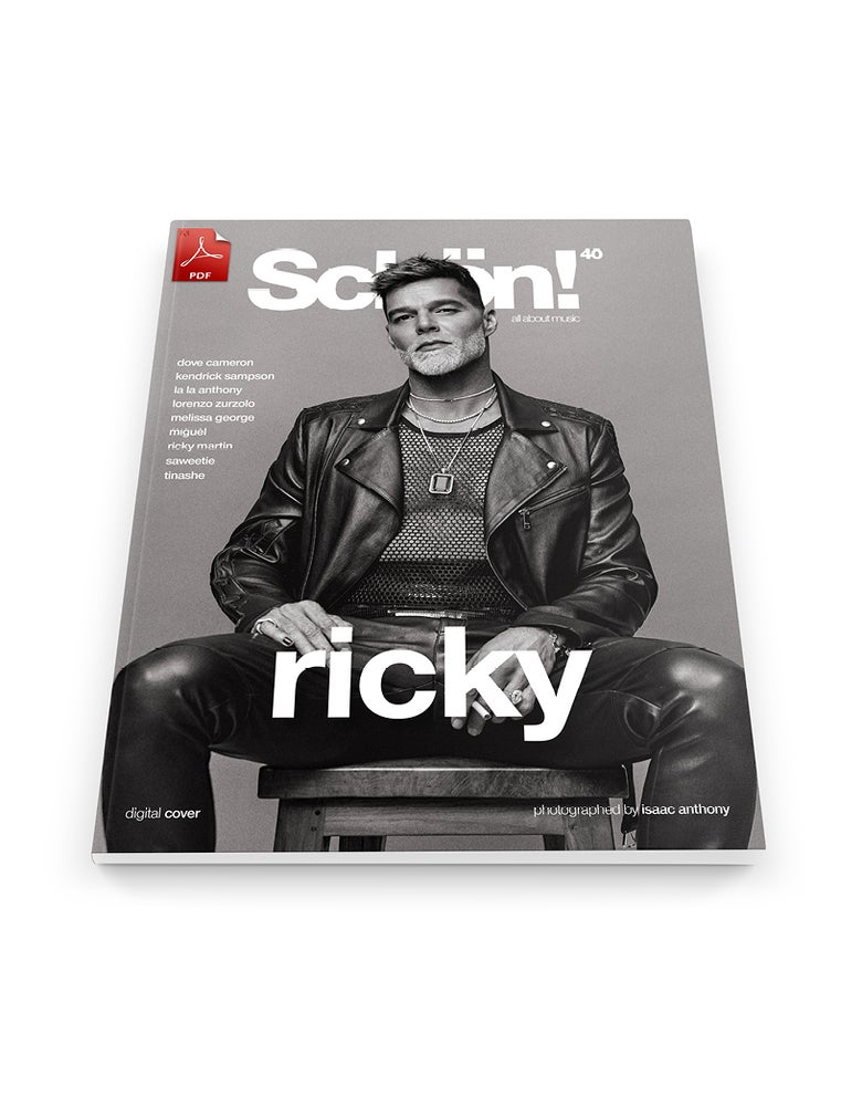 Image of Schön! 40 | Ricky Martin by Isaac Anthony | eBook 2 download