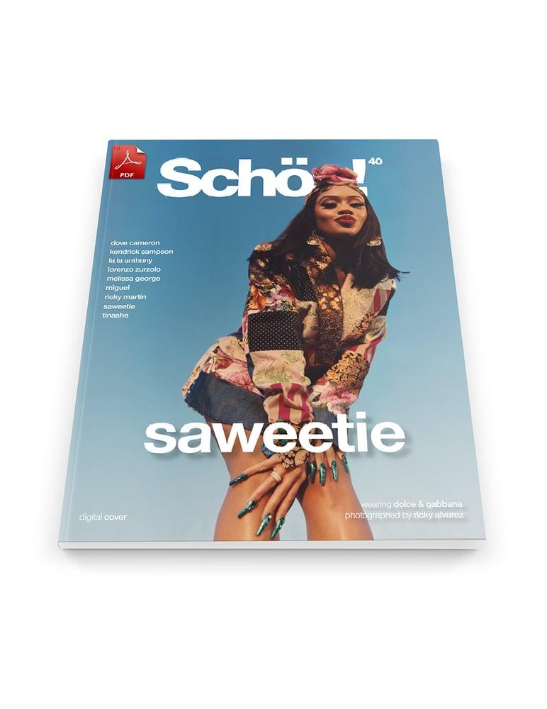 Image of Schön! 40 | Saweetie by Ricky Alvarez | eBook 2 download