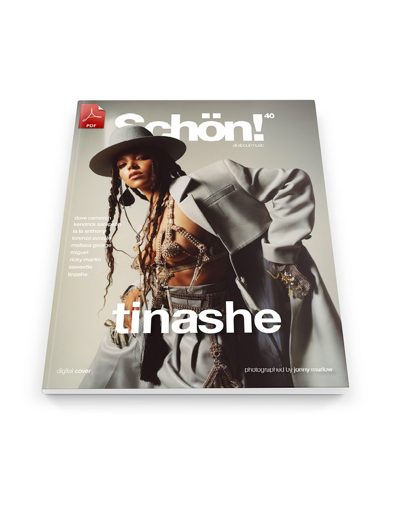 Image of Schön! 40 | Tinashe by Jonny Marlow | eBook 2 download