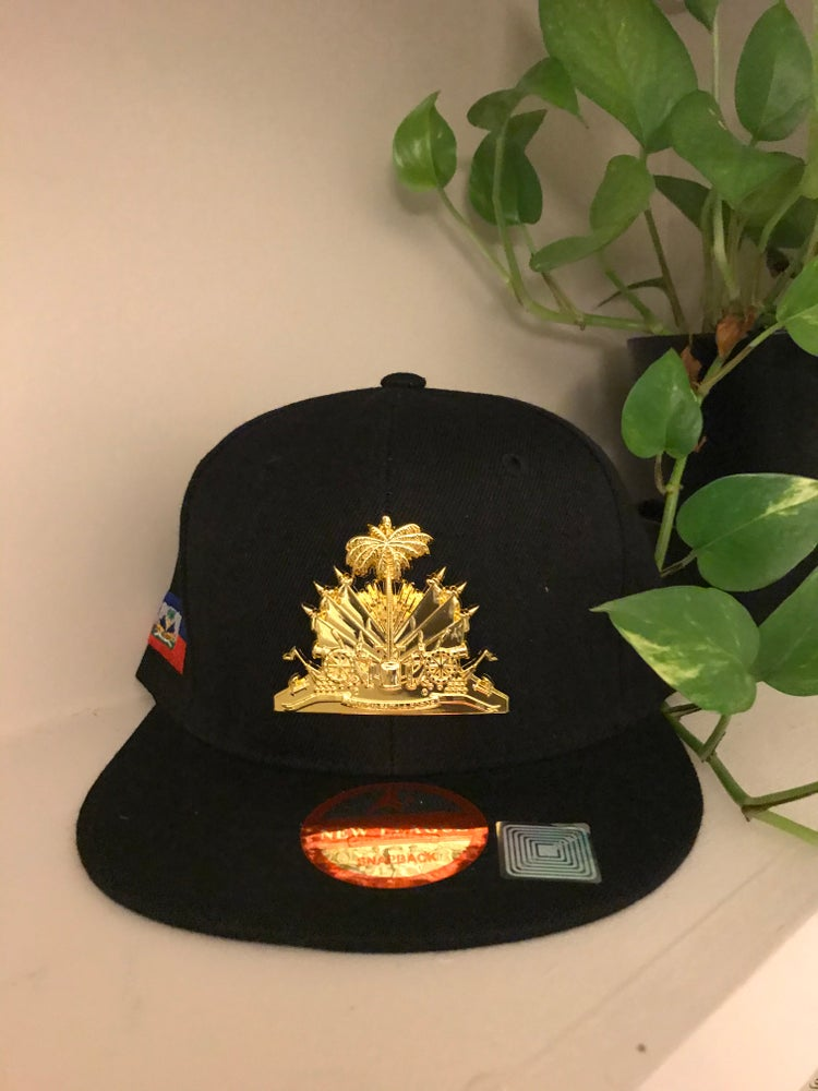 Image of Haitian Coat of Arms Snap Back
