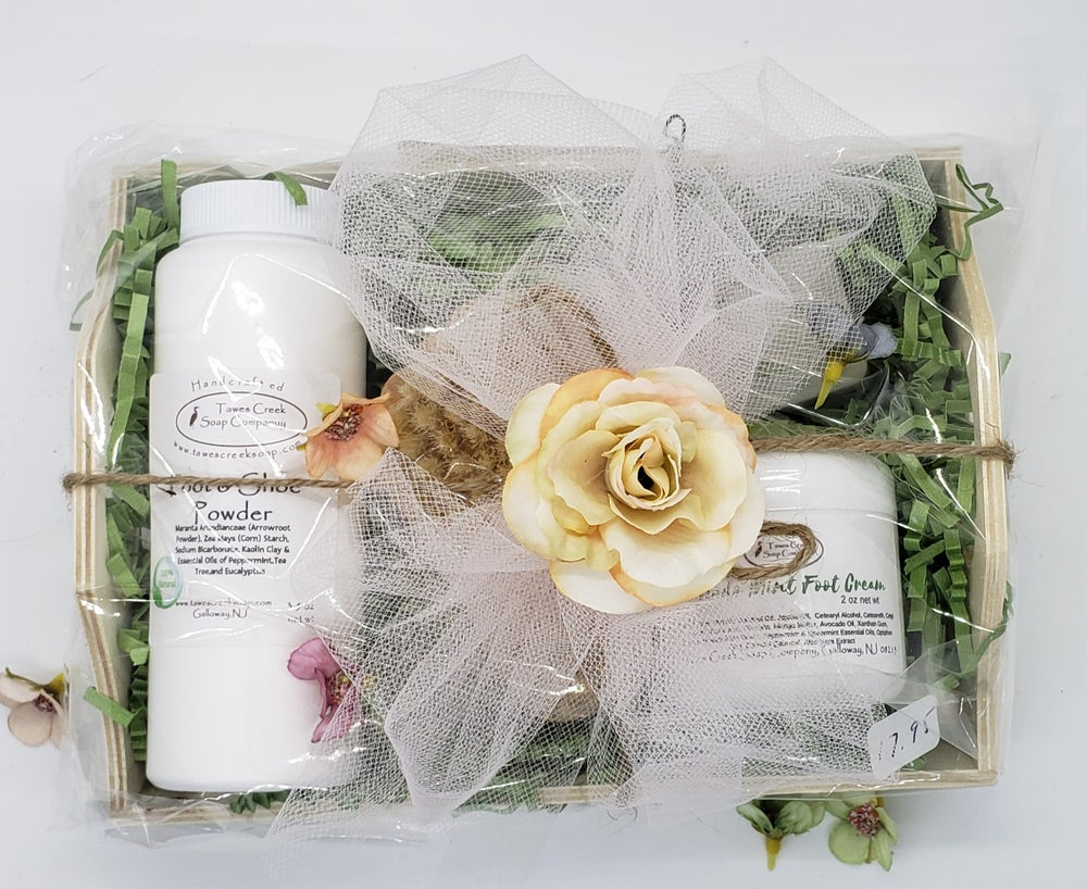 Image of Deluxe Pampered Foot Box