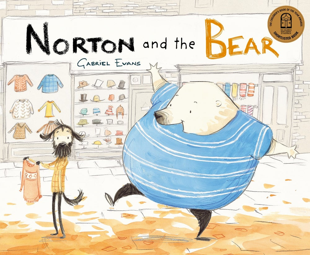 Image of Norton and the Bear