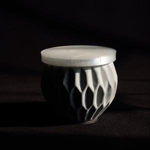 Image of SEWNSEWN - Flamie Candle (Waffle)