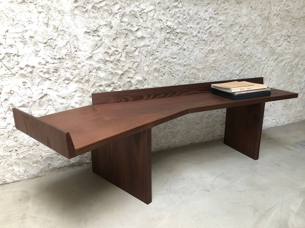 Image of solid ash altar / side table