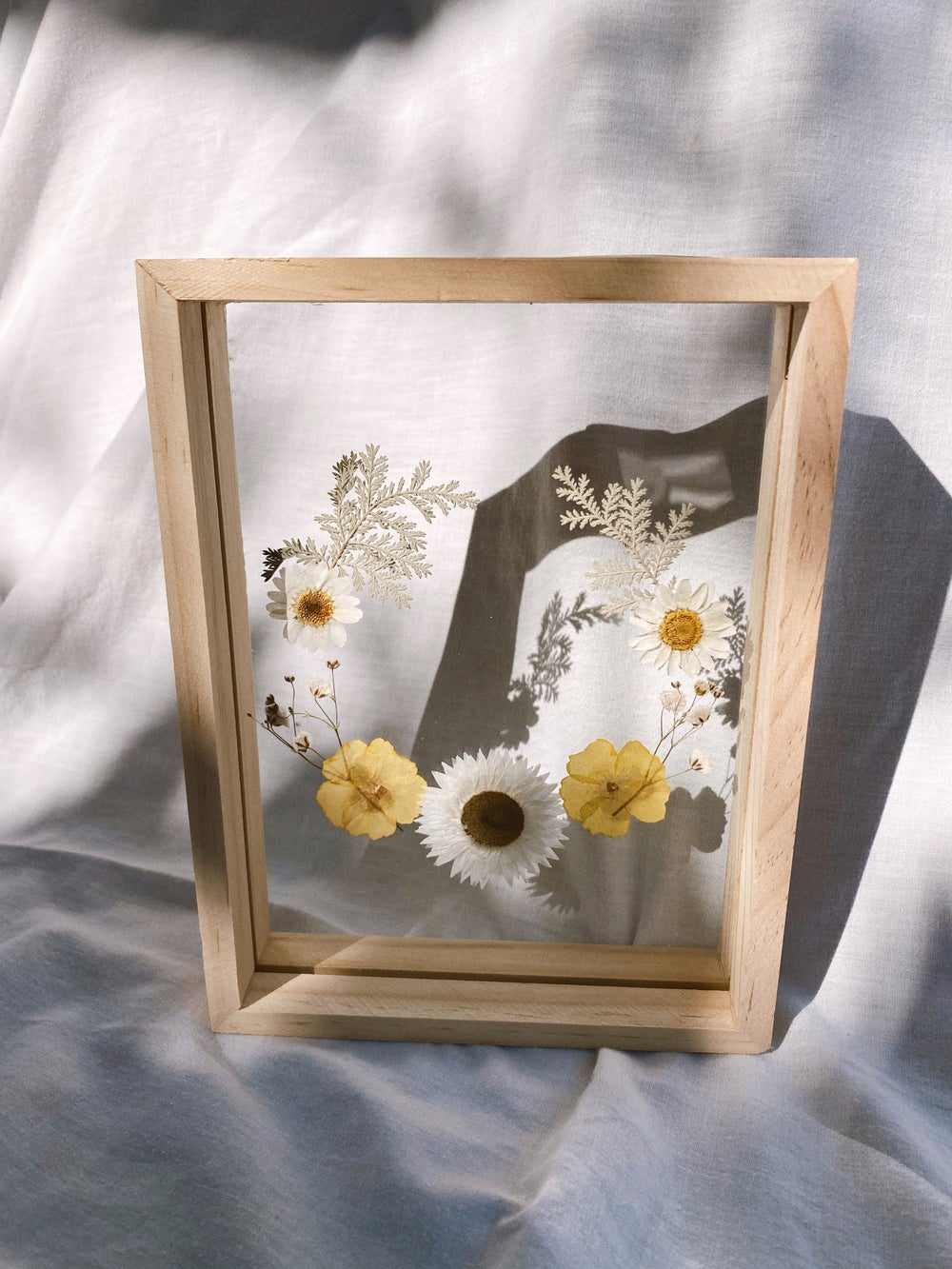 Image of Mellow Yellow Floral Frame (Small)
