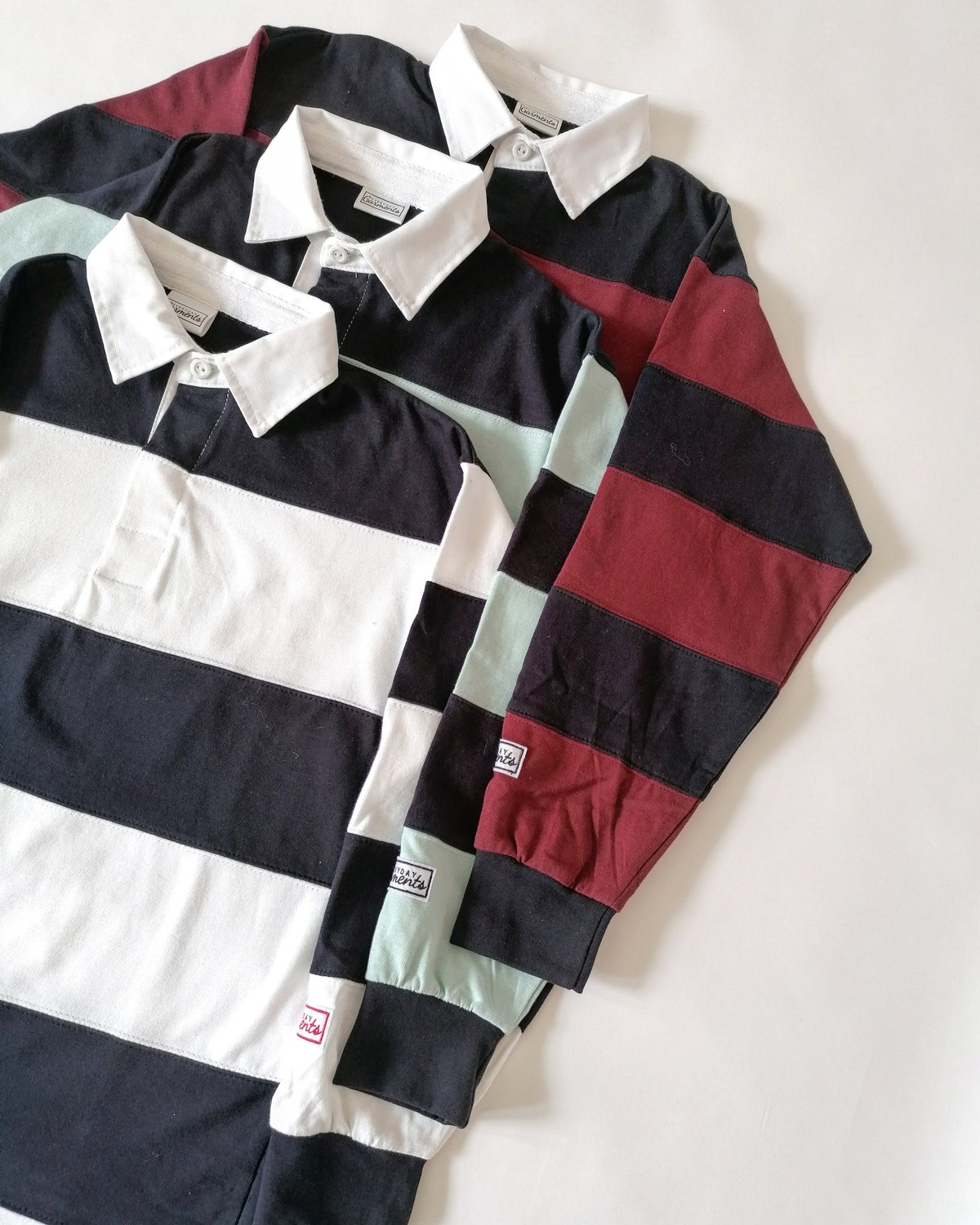 Image of EVERYDAY GARMENTS STRIPE JERSEY TOP