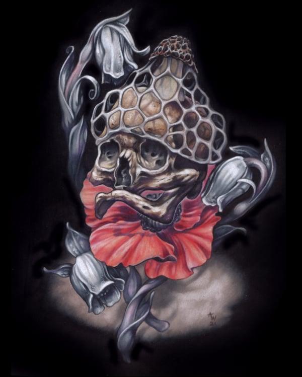 """Image of """"Psychopomp III"""" Giclee Print"""