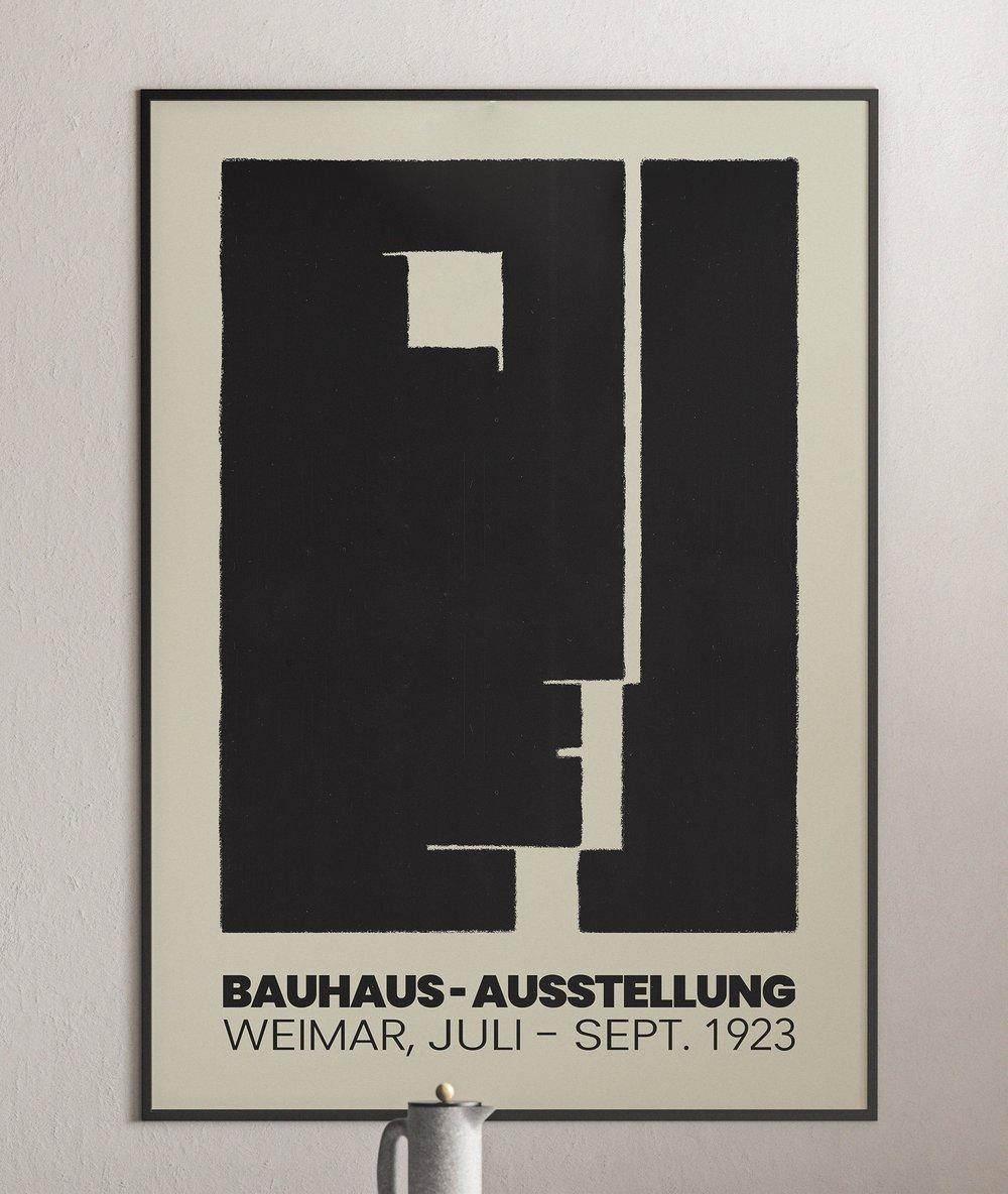 Bauhaus Art School - Weimar 1923 Exhibition Poster