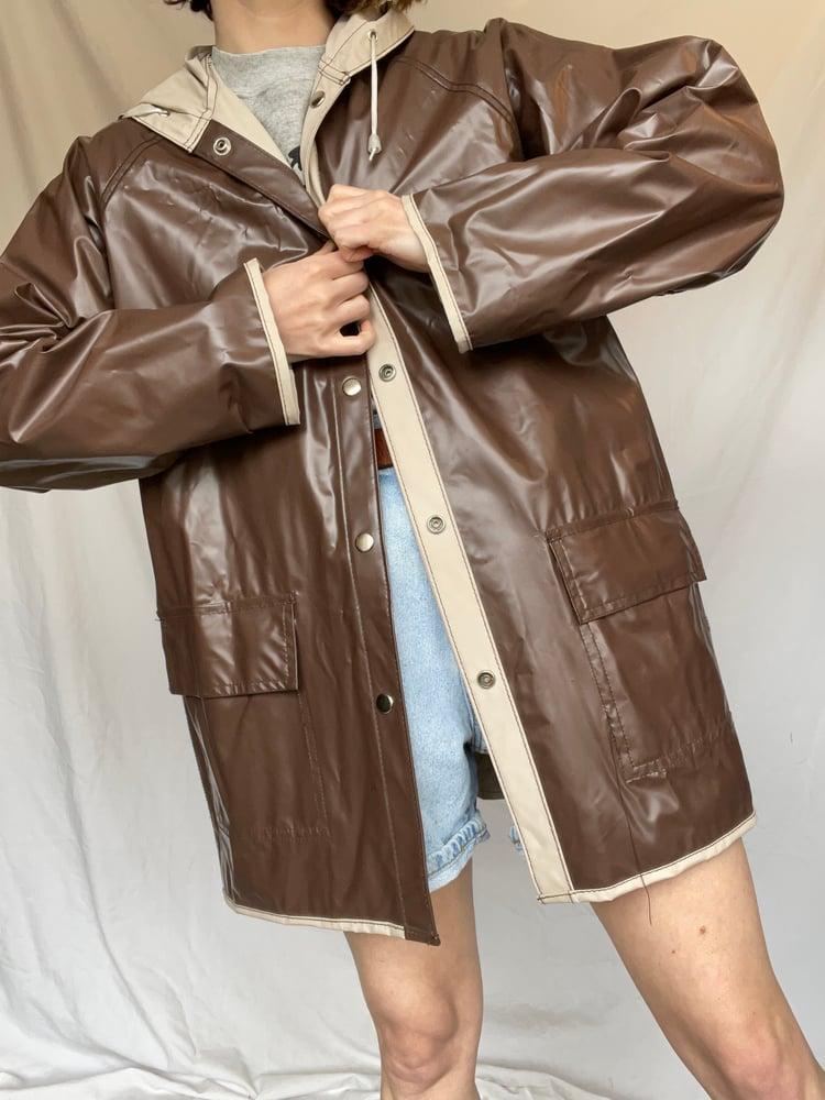 Image of Reversible Raincoat