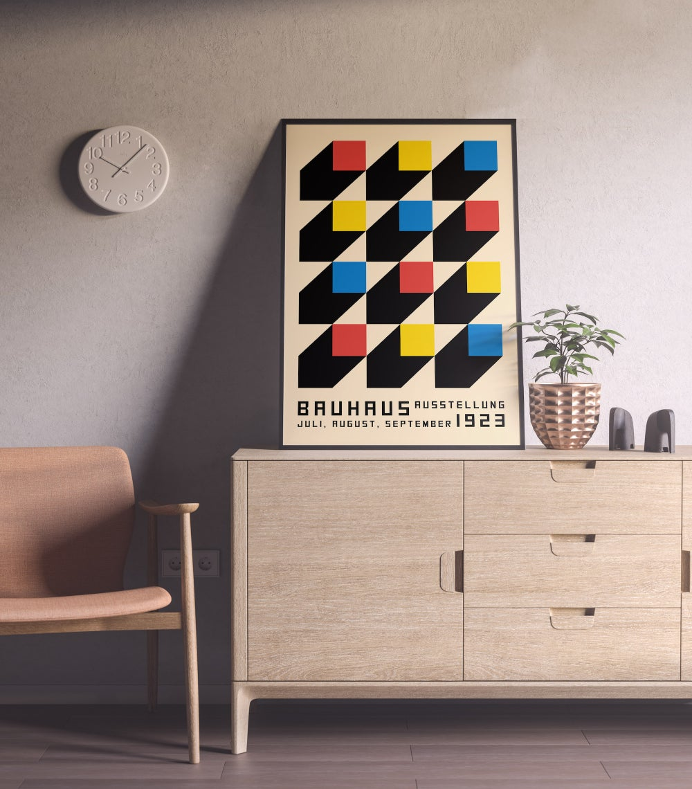 Bauhaus Art School 1923 Architecture Poster