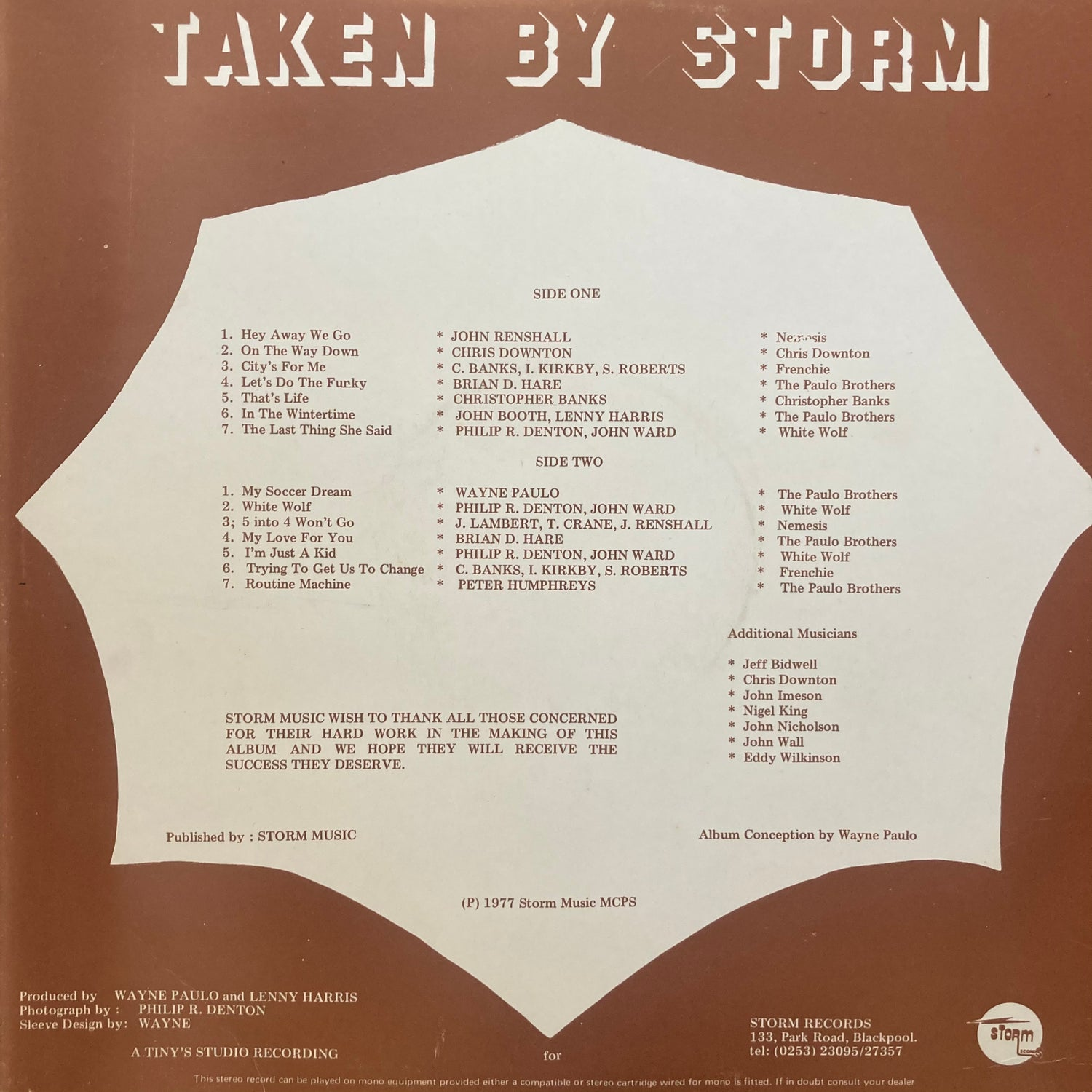 Image of Various Artists - Taken By Storm