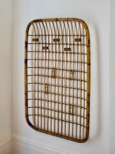 Image of Large Bamboo Coat Rack, Mid-20th Century Italian