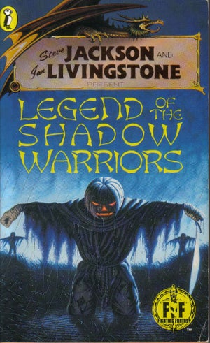Image of Legend of the Shadow Warriors A3 print