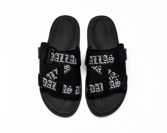 Image of  STAY STRAPPED SLIDES (PREORDER)