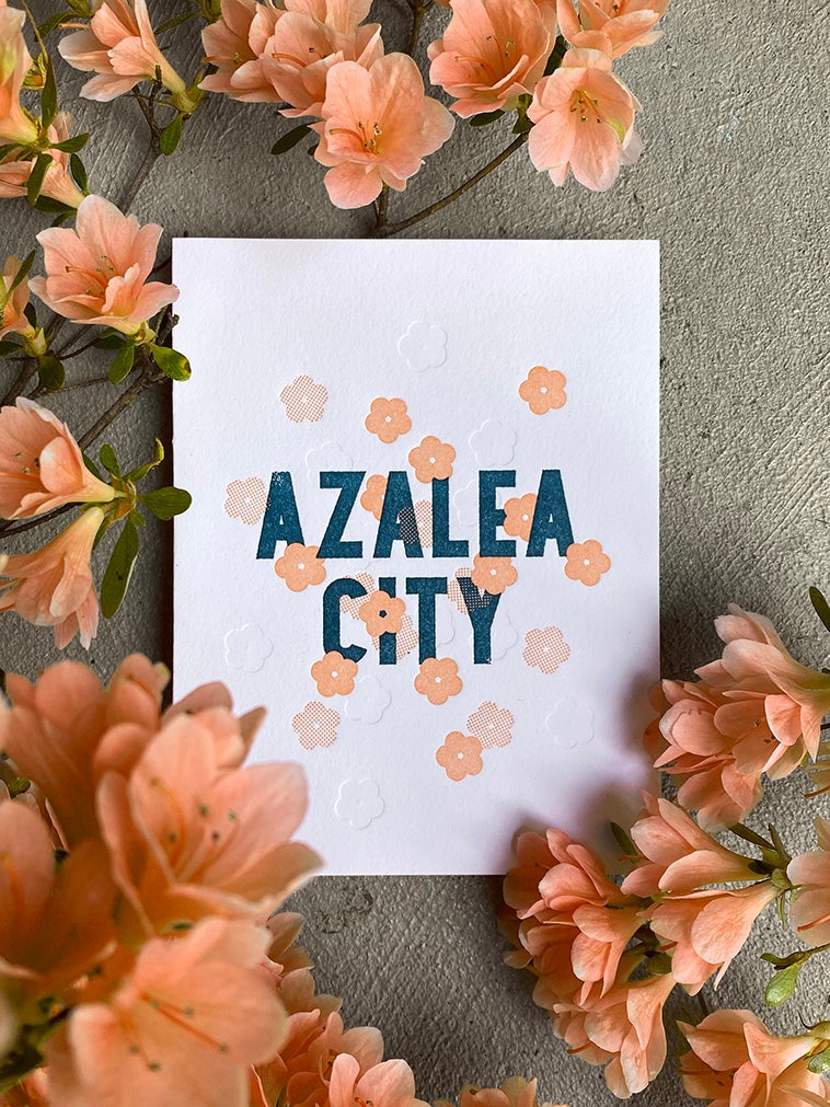 Image of Azalea City - Greeting Card