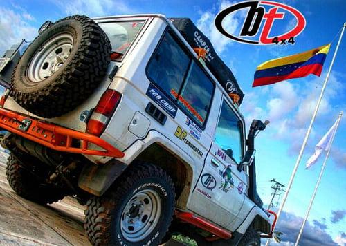 Image of BT4x4 Toyota Land Cruiser 70/80 series Rally rear bumper