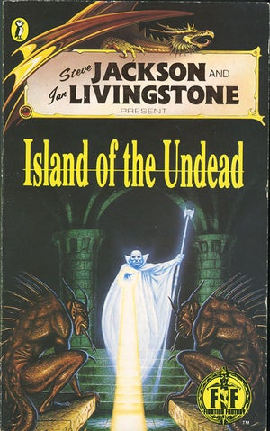 Image of Island of The Undead A3 print