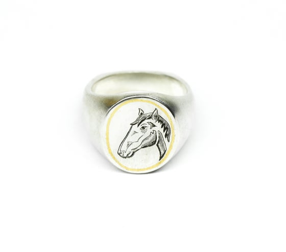 Image of Lucky Horse Signet