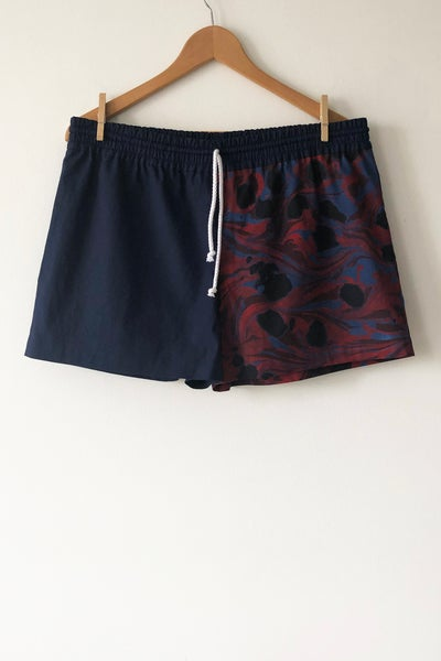 Image of Mixed Print Shorts - No. 9