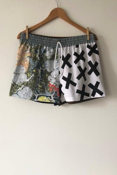 Image of Mixed Print Shorts - No. 7