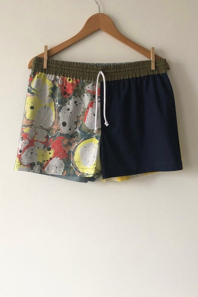 Image of Mixed Print Shorts - No. 4