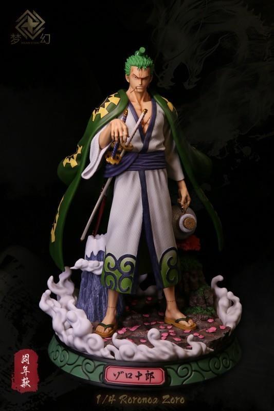 Image of [Last-Stock]One Piece Dream Studio Wano Zoro 1:4 Resin Statue