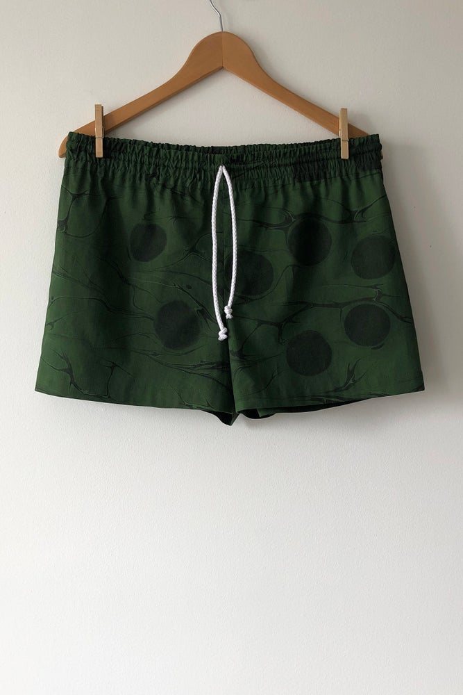 Image of MARBLE Shorts - Green