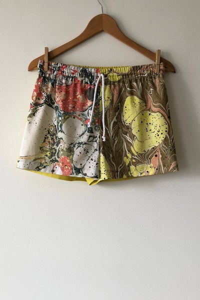 Image of Mixed Print Shorts - No. 12
