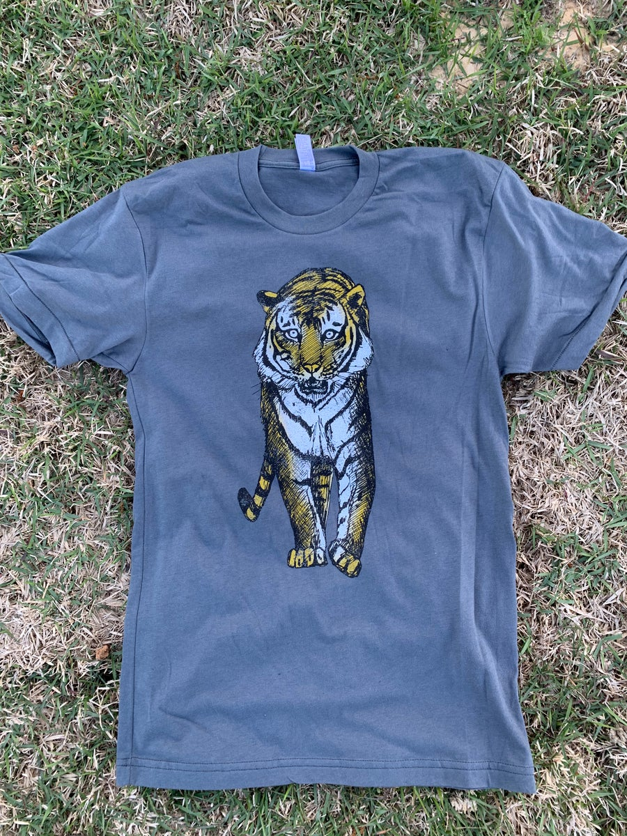 Image of Adult Walking Tiger Tee