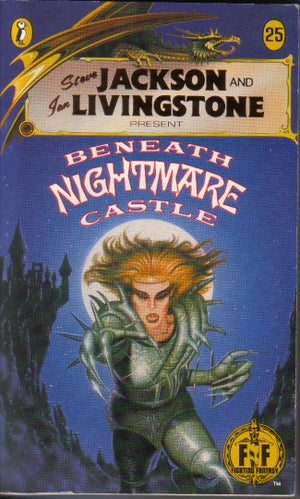 Image of Beneath Nightmare Castle A3 print