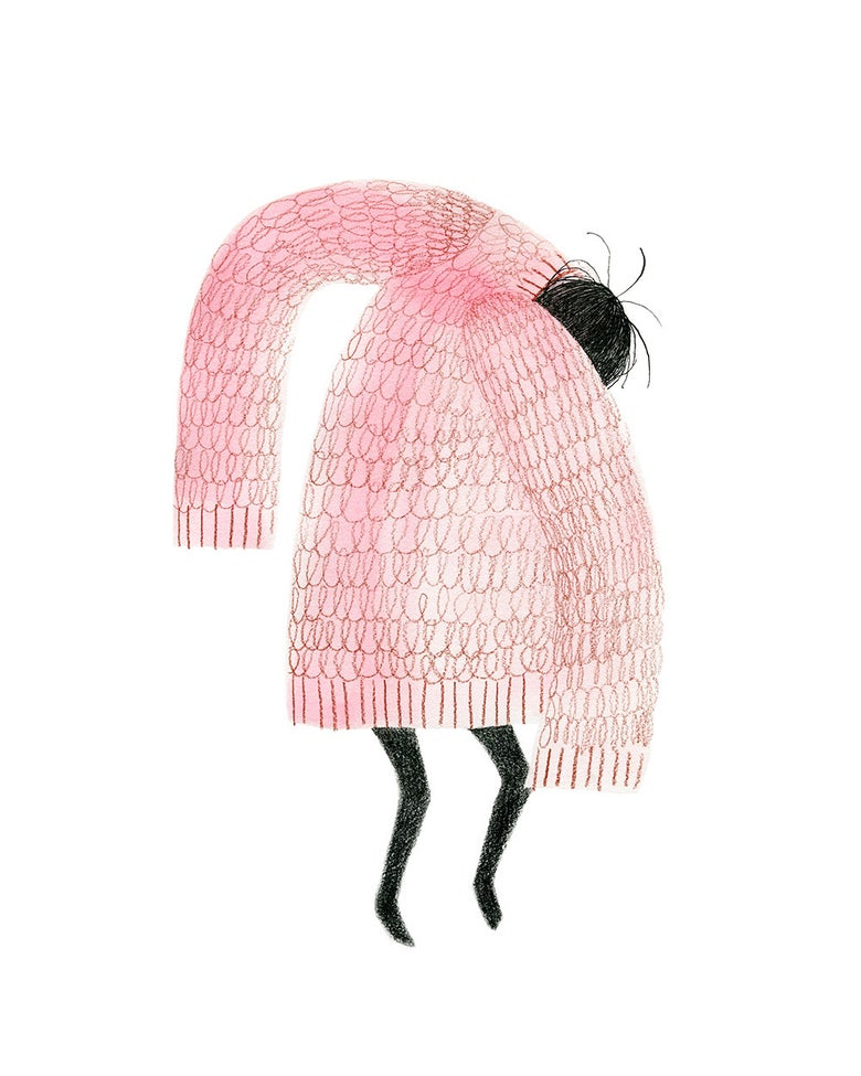 Image of Pink Sweater - small version