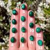 Custom malachite ring