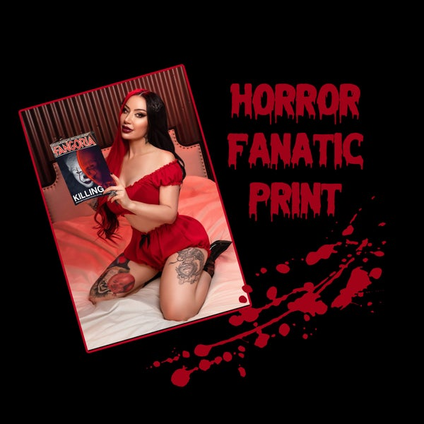 Image of Horror Fanatic Print