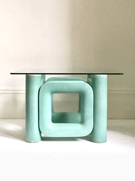 Image of Postmodern Ceramic Coffee Table, Italy 1970s
