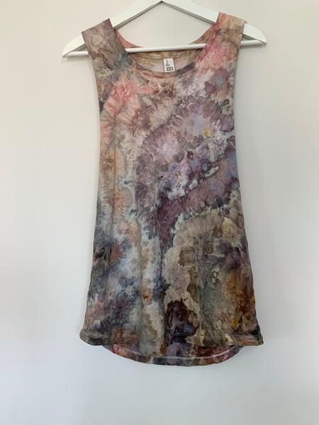 Image of Tie Dye Medium Women's Tank (Geode)