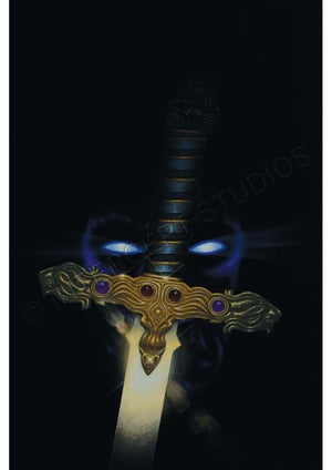 Image of The Seventh Sword A3 print – CLEARANCE SALE
