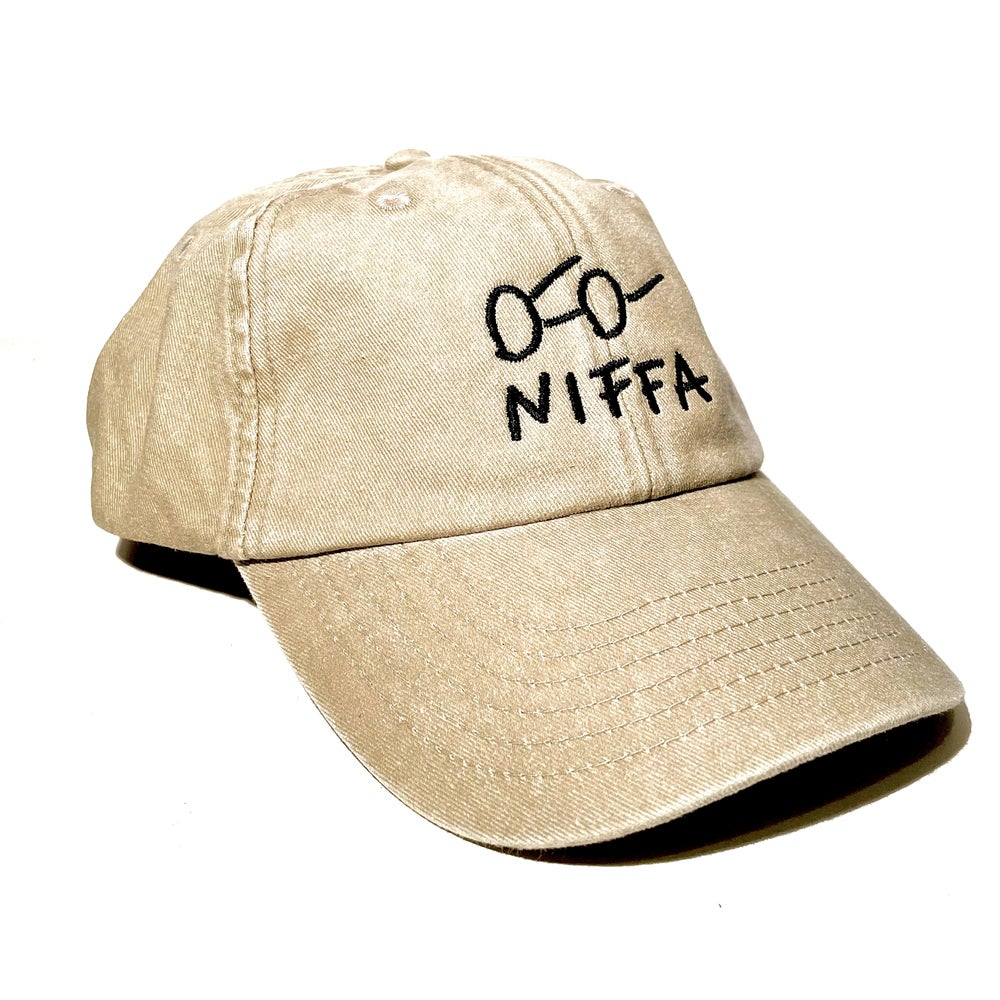 Image of SKETCHY DAD CAP - BEIGE