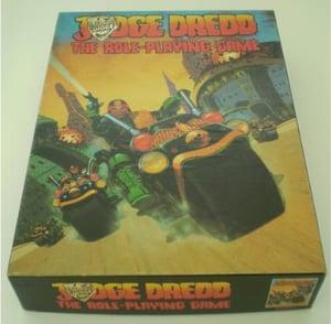 Image of Judge Dredd A3 print
