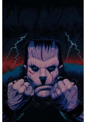 Image of Frankenstein A3 print