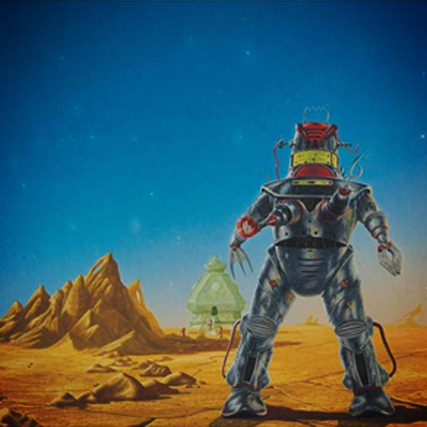 Image of Across A Billion Years A3 print – CLEARANCE SALE