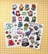 Fanart - Sticker Sheets