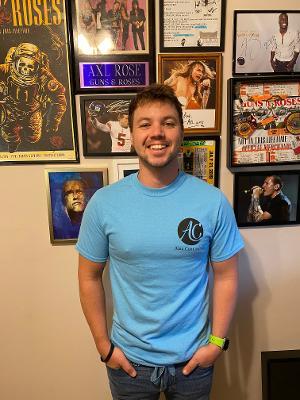 Image of Unisex Aquatic Blue T-Shirt