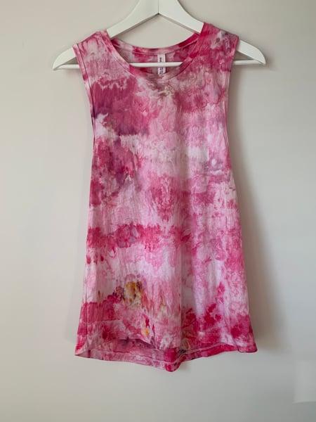 Image of Tie Dye Small Women's Tank (Camo Candy)