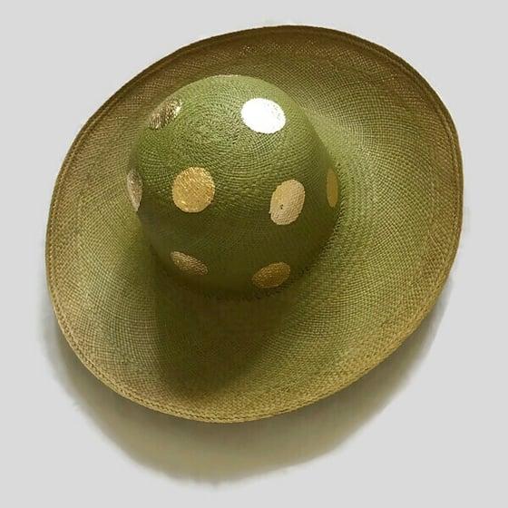 Image of Dotty Spotty Summer Hat