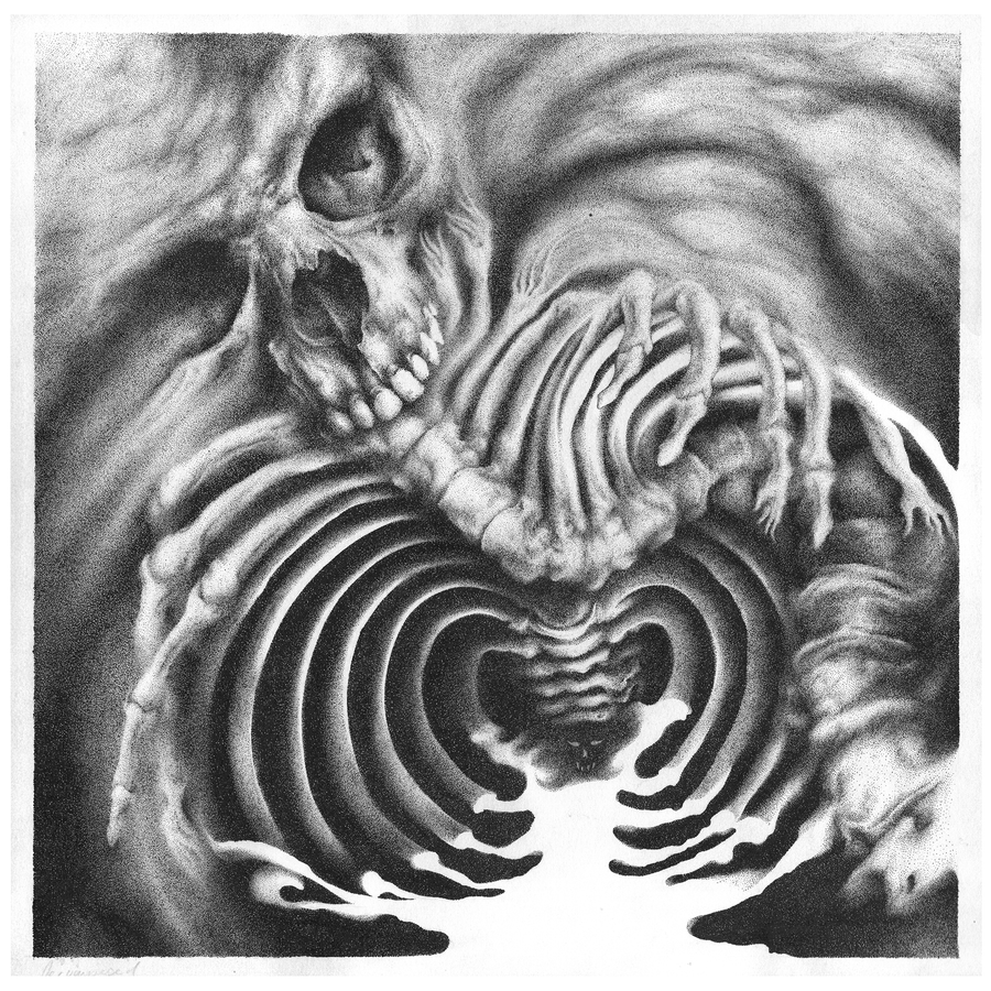 Image of Decomposition | Ink Drawing