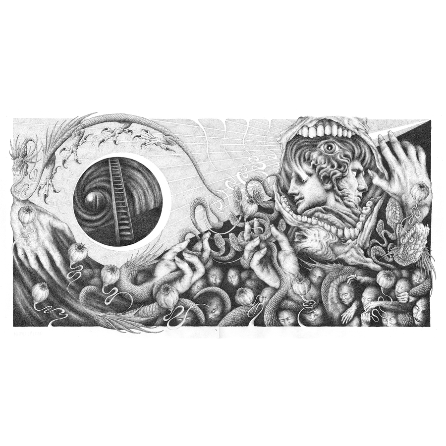 Image of Inferno | Ink Drawing